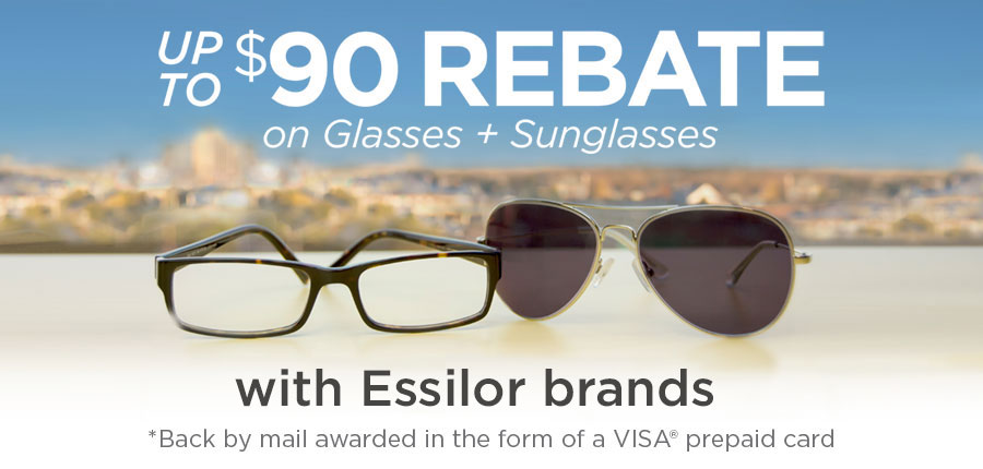 Essilor Optical Rebate 2016