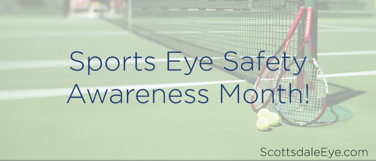 April is Sports Eye Safety Awareness Month!