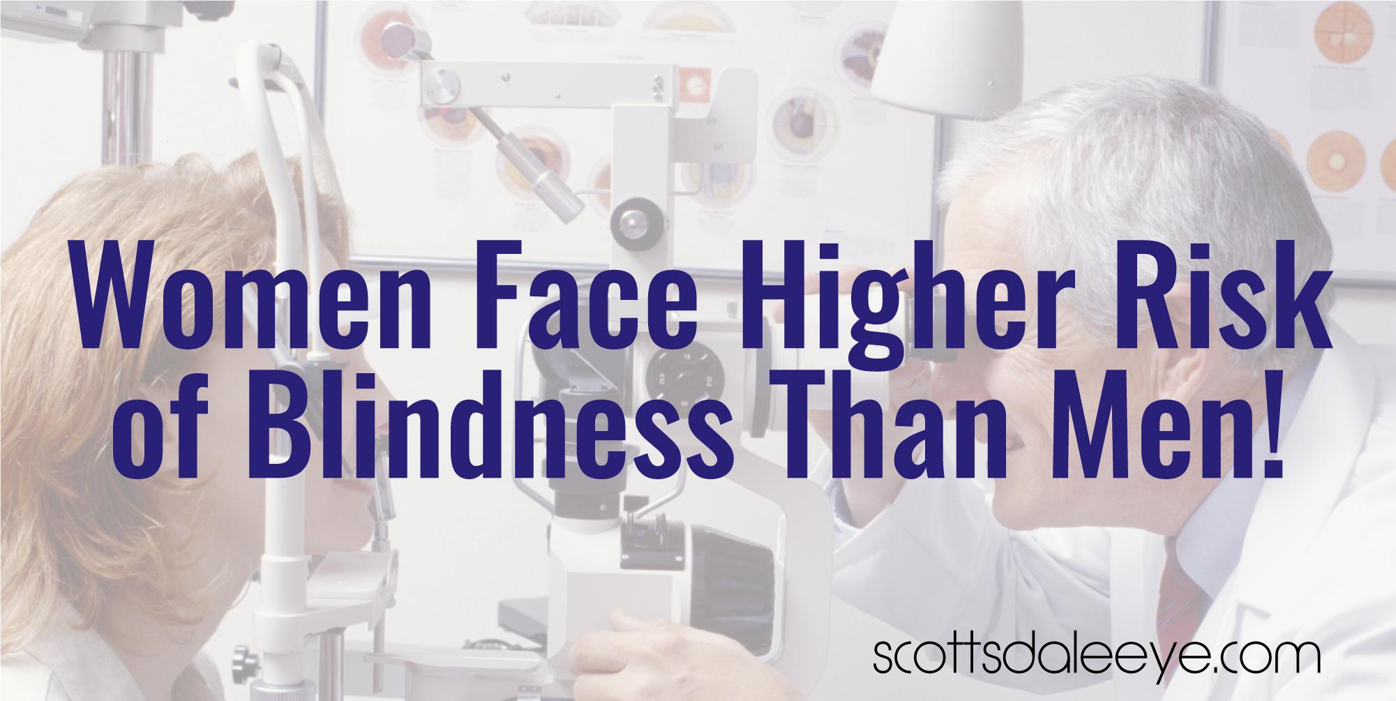 Studies Show Women Face Higher Risk of Blindness Than Men